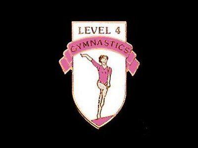 Level 4 Gymnastics Lapel Pin - MAKING REAL PROGRESS!!