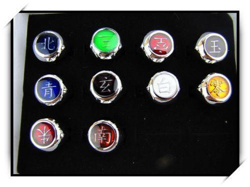 Itachi Ring Necklace