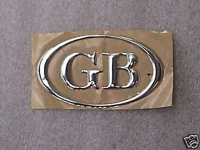 Classic Mini Triumph Decal GB Union Jack Sticker Boot// Bumper Sticker MG