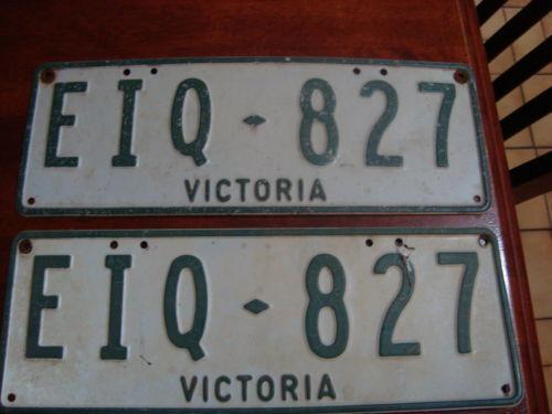 Australian Number Plates Ebay