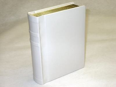 Professional 5x7 ivory Gold Edged Photo Album - 30 photos (Engraving Available)