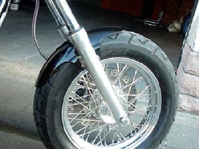 Frontfender Harley Softail Chopper Evo Dyna Custom Bobber Triumph Sportster Uni  online kaufen