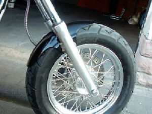 Frontfender Harley Bobber Dyna Chopper Triumph Softail Custom Evo Sportster Uni