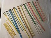Vintage Plastic Knitting Needles