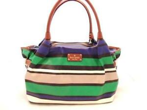 Kate Spade Stevie Stripe Bags