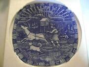 Rorstrand Christmas Plate