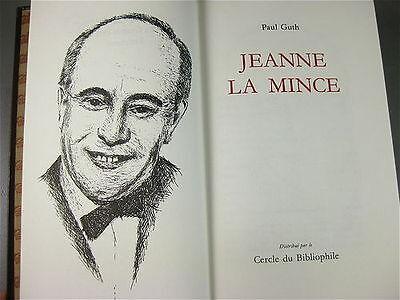 JEANNE LA MINCE  , ROMAN