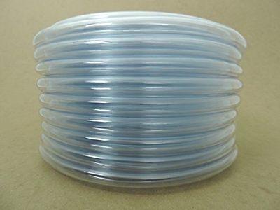 Clear Pvc Vinyl Flexible Vacuum Line Hose Tubing Milk Milker Pulsator Hookup 12