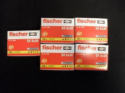 500 Stk FISCHER Universaldübel SX 6 x 30 Spreizdübel Dübel Nylon Allzweck #462