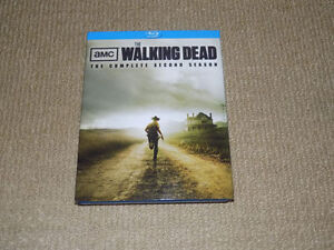THE WALKING DEAD THE COMPLETE SECOND SEASON BLU-RAY