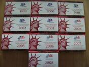 1999-2008 Silver Proof Sets