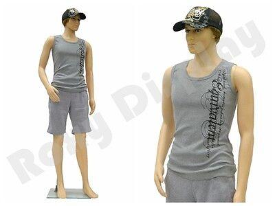 Male Plastic Mannequin Display Dress Form Ps-ken Free Wig
