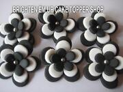 Edible Cupcake Toppers Flowers