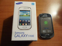 SAMSUNG FAME, UNWANTED UPGRADE, NEVER USED, BRAND NEW LOCKED TO O2