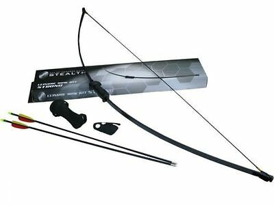 stealth adult archery bow kit 2 piece (strong)