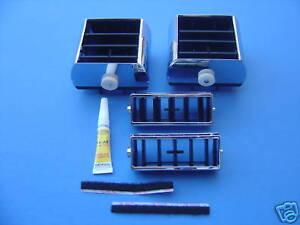 1971-1972-72 CHEVELLE & EL CAMINO DASH AIR CONDITIONING A/C VENT REBUILD KIT-NEW