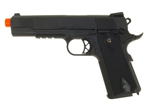 WE Combat Warrior M1911 Full Metal Gas Blowback Airsoft Pistol