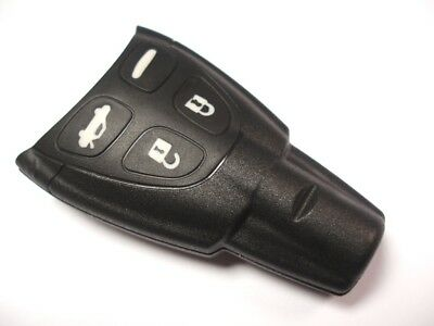 Replacement 4 button fob case for SAAB 93 95 9-3 9-5 remote key