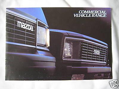 1983 Mazda Commercial vehicle range Brochure