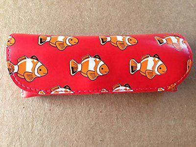 Under the Sea Small Semi-Hard Eyeglasses Case - Clown Fish - Under The Sea Font