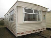 Static caravan offsite in Northumberland