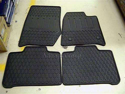 Hard Rubber Flooring : Genuine ford sz mk territory full set hard poly rubber