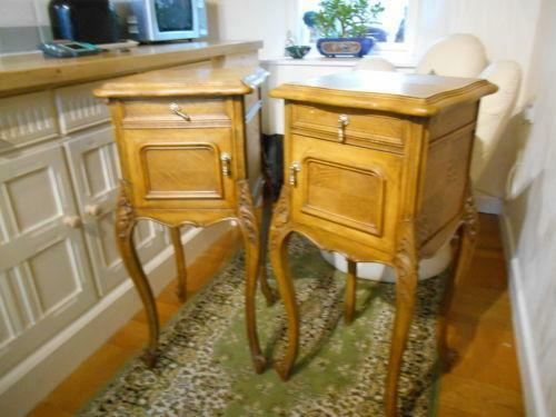 Antique Bedside Table Ebay