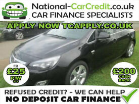 Vauxhall Astra 1.6 i VVT 16v SRi 5dr Good / Bad Credit Car Finance (black) 2011
