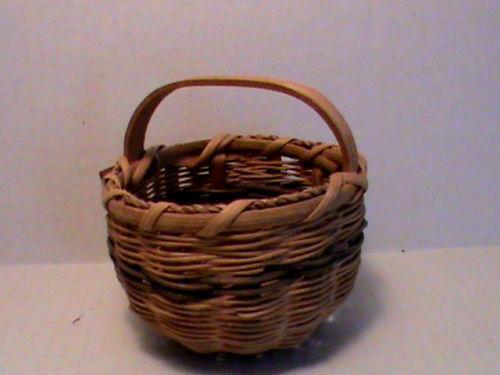 small wicker basket ebay. Black Bedroom Furniture Sets. Home Design Ideas