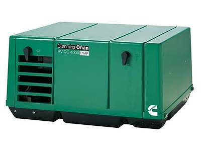 New Cummins Onan 4.0 Ky-fa6747 Qg 4000 Evap Rv Or Commercial Generator Set Rv
