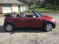 Looking for a new home for MINI Convertible 1.6 One 2dr (Cherry)