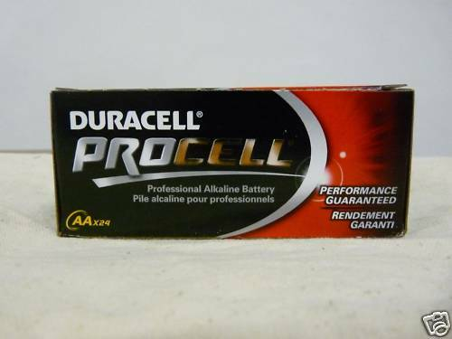 72 Duracell Procell AA Batteries - Brand New - Free Shipping