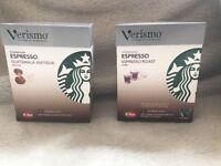 Genuine Starbucks Verismo Coffee Pods