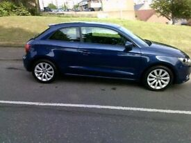 AUDI A1 TFSI SPORT , Blue, Manual, Petrol, 2012 (blue) 2012