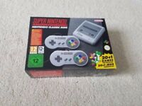 Snes Mini Console Brand New, sealed.
