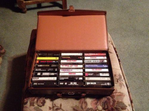 cassette carrying case ebay