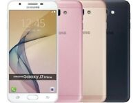 "Samsung Galaxy J7 Prime 32GB SM-G610F/DS Dual SIM Factory Unlocked 5.5"" Phone in BLACK/GOLD&PINK"