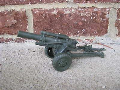 New Marx WWII 155MM Howitzer Field Artillery Cannon 1/32 54MM Toy