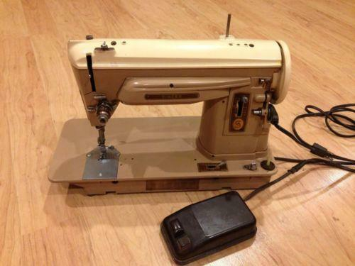 sewing machine denim