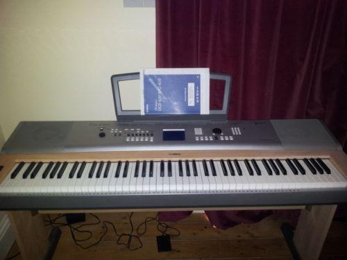 yamaha dgx electronic keyboards ebay. Black Bedroom Furniture Sets. Home Design Ideas