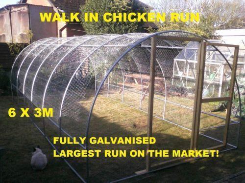 Walk In Chicken Runs Ebay