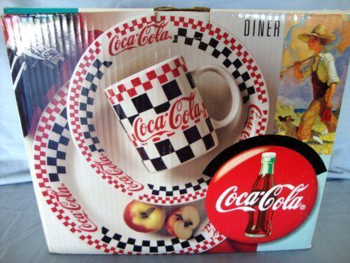 Coca Cola Dinnerware Ebay