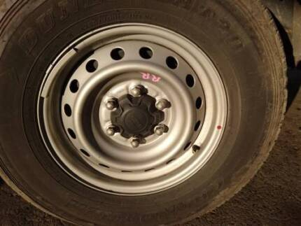 FORD RANGER STEEL WHEEL WITH 255/70R16 TYRE 11 TO 17 (TMP-185696)