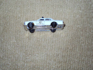 1981, ERTL, DUKES OF HAZZARD PONTIAC POLICE DIECAST METAL CAR