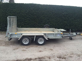 Used Ifor Williams Plant Trailer / Used GP106 Plant Trailer REF: M3378