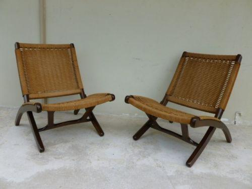 Folding patio chairs - Danish Folding Chair Ebay
