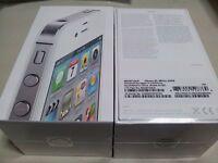 Cherche iphone 4s 64gb white brand new sealed  factory unlocked