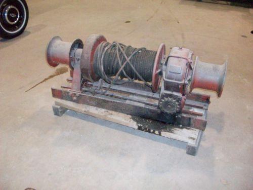 hydraulic winch braden winch