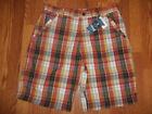 Billabong Plaids & Checks Regular 34 Shorts for Men