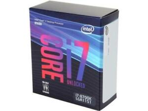 Intel I7 Desktop Processor 8700k LGA1151 8th Gen